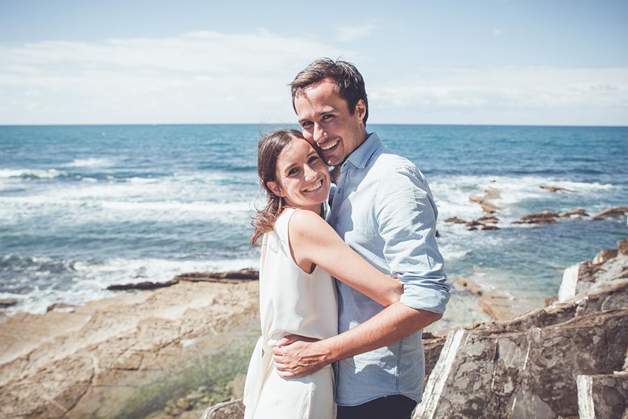 séance photos de couple à Saint Jean de Luz